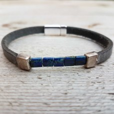 Square blauw grijs