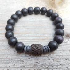 Achilles zwart lava