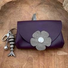 Liesbeth paars grijs met sleutelhanger
